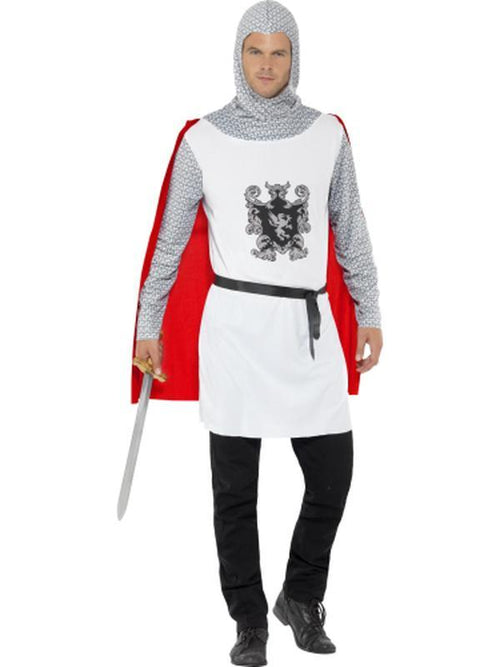 Knight Costume, Economy-Costumes - Mens-Jokers Costume Hire and Sales Mega Store