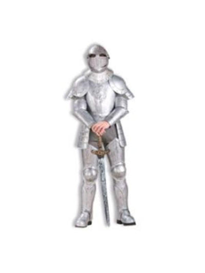 Knight In Shining Armour Costume - Size Std-Costumes - Mens-Jokers Costume Hire and Sales Mega Store
