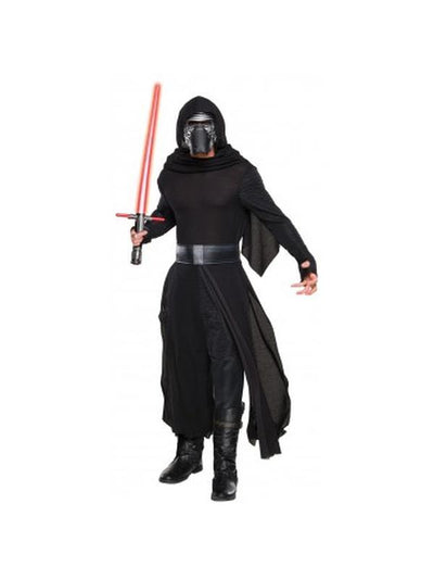 Kylo Ren Deluxe - Size Xl-Costumes - Mens-Jokers Costume Hire and Sales Mega Store