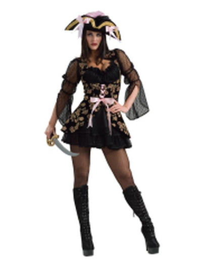 Lacey Pirate Secret Wishes Costume - Size S-Jokers Costume Mega Store