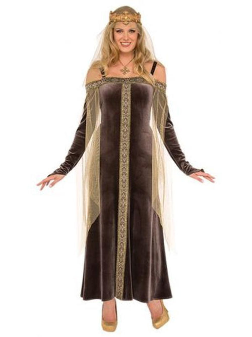 Lady Grey Costume - Size Std-Costumes - Women-Jokers Costume Hire and Sales Mega Store