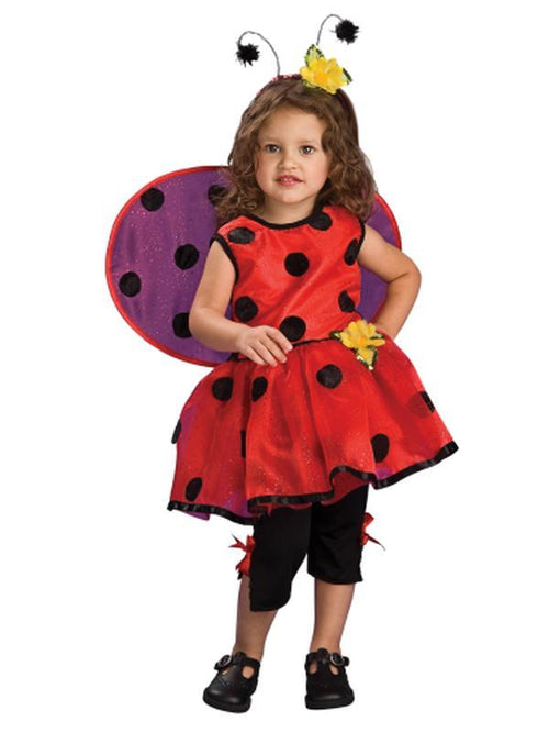 Ladybug - Size S-Costumes - Girls-Jokers Costume Hire and Sales Mega Store