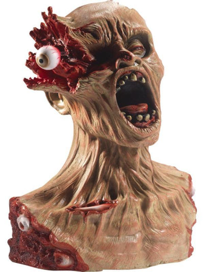 Latex Exploding Eye Zombie Bust Prop-Halloween Props and Decorations-Jokers Costume Hire and Sales Mega Store