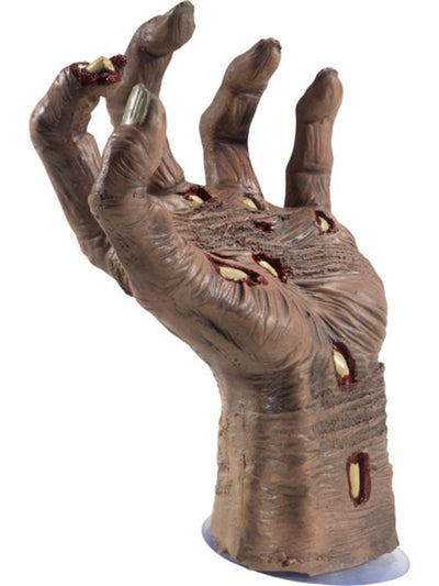 Latex Rotting Zombie Hand Prop-Halloween Props and Decorations-Jokers Costume Hire and Sales Mega Store