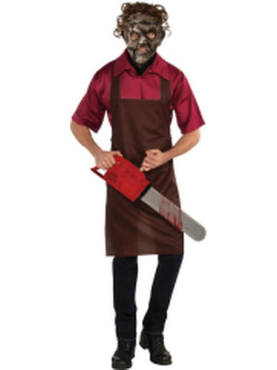 Leatherface - Size Std.-Costumes - Mens-Jokers Costume Hire and Sales Mega Store