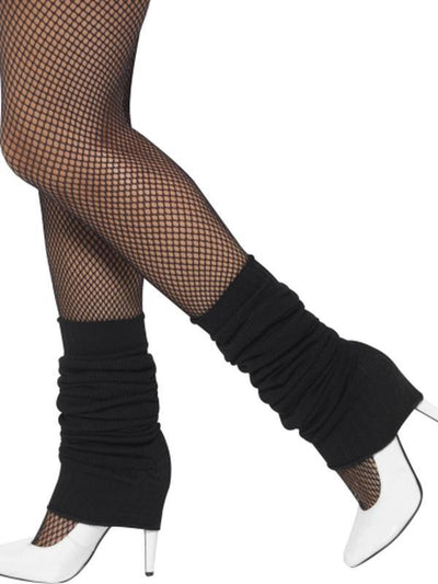 Legwarmers - Black-Leg Wear-Jokers Costume Hire and Sales Mega Store