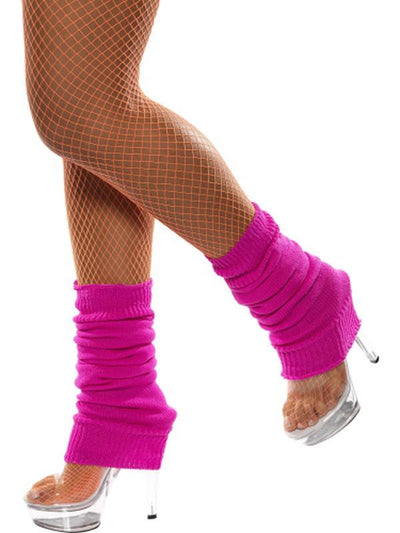 Legwarmers - Hot Pink-Leg Wear-Jokers Costume Hire and Sales Mega Store