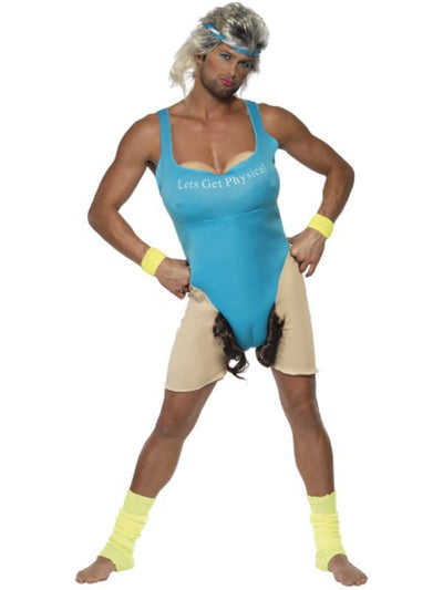 Lets Get Physical, Work Out Costume-Costumes - Mens-Jokers Costume Hire and Sales Mega Store