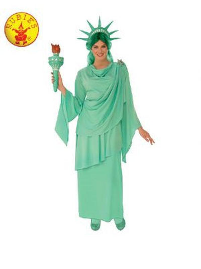 LIBERTY STATUE WOMENS COSTUME-Costumes - Women-Jokers Costume Hire and Sales Mega Store