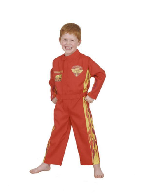 Lightning Mcqueen Cars Racing Suit - Size 4-6-Costumes - Boys-Jokers Costume Hire and Sales Mega Store