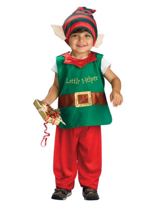 Lil' Elf - Size S-Costumes - Boys-Jokers Costume Hire and Sales Mega Store