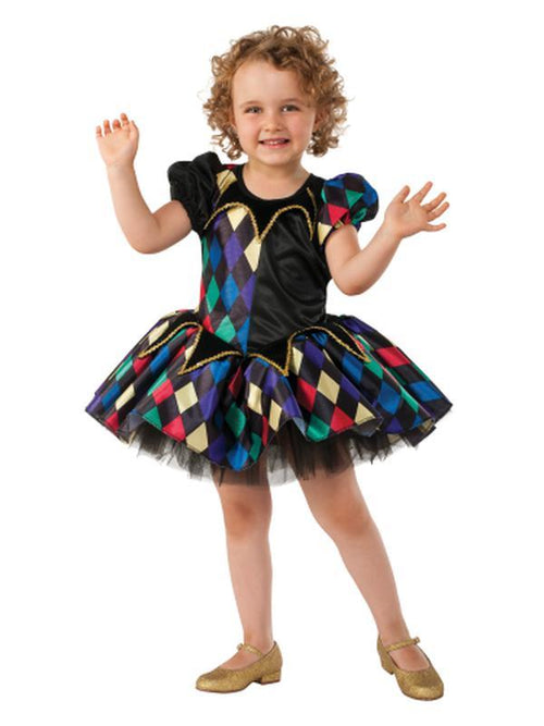 Lil Jester - Size S-Costumes - Girls-Jokers Costume Hire and Sales Mega Store