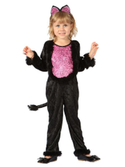 Lil Leopard Kitty - Toddler-Costumes - Girls-Jokers Costume Hire and Sales Mega Store