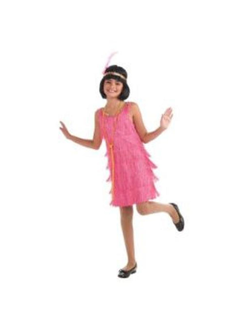 Lil' Miss Flapper Costume - Size M-Costumes - Girls-Jokers Costume Hire and Sales Mega Store