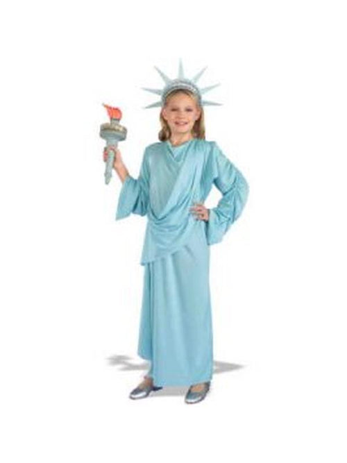 Lil Miss Liberty Costume - Size M-Costumes - Girls-Jokers Costume Hire and Sales Mega Store