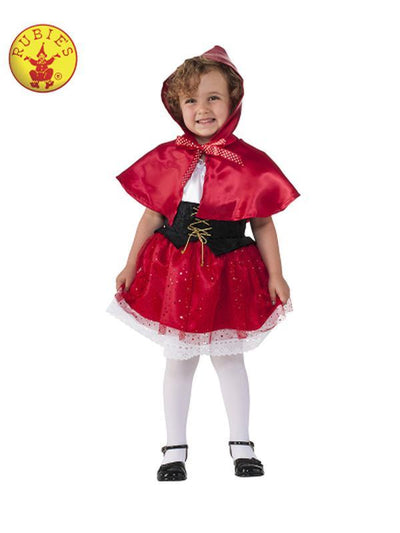 LIL' RED RIDING HOOD - SIZE TODD-Costumes - Boys-Jokers Costume Hire and Sales Mega Store