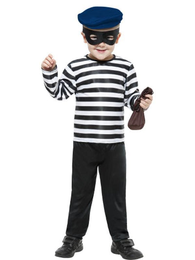Little Burglar Costume-Costumes - Boys-Jokers Costume Hire and Sales Mega Store