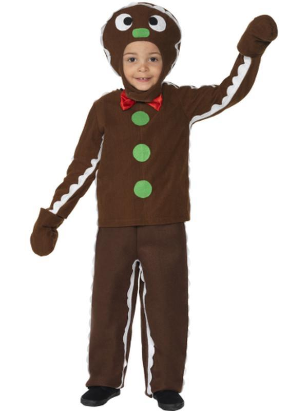Little Gingerbread Man Costume-Costumes - Boys-Jokers Costume Hire and Sales Mega Store