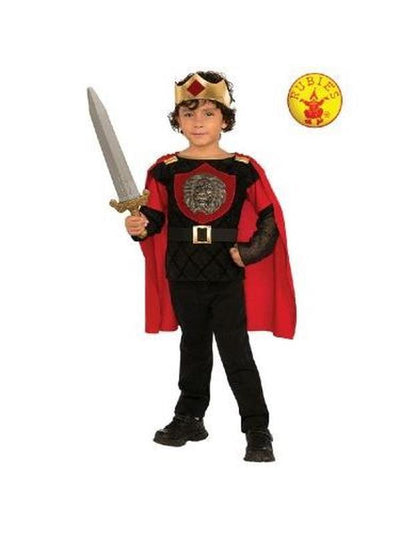 LITTLE KNIGHT COSTUME - SIZE S-Costumes - Boys-Jokers Costume Hire and Sales Mega Store