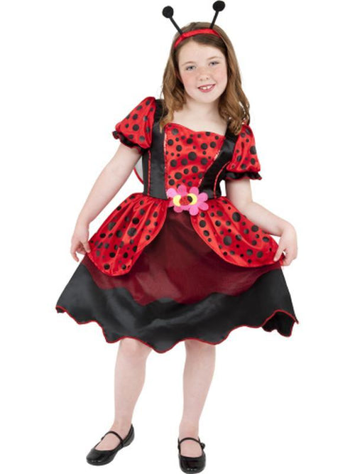 Little Lady Bug Costume-Costumes - Girls-Jokers Costume Hire and Sales Mega Store