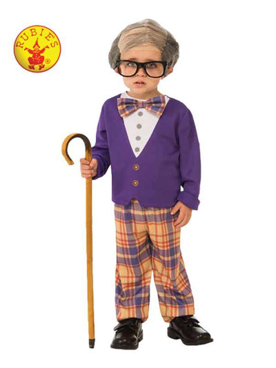 LITTLE OLD MAN COSTUME - SIZE S-Costumes - Boys-Jokers Costume Hire and Sales Mega Store