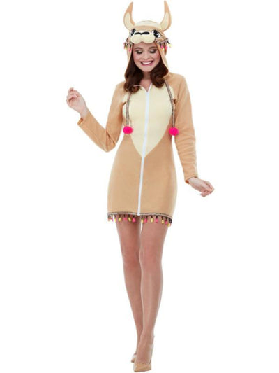 Llama Costume-Costumes - Women-Jokers Costume Hire and Sales Mega Store