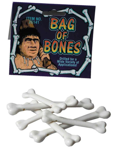 Lot-A-Bones - 6pc Mini Bones-Costume Accessories-Jokers Costume Hire and Sales Mega Store