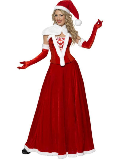 Luxury Miss Santa Costume-Costumes - Women-Jokers Costume Hire and Sales Mega Store