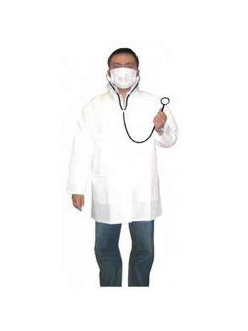 Mad Doctor Lab Coat & Accessories-Costumes - Mens-Jokers Costume Hire and Sales Mega Store