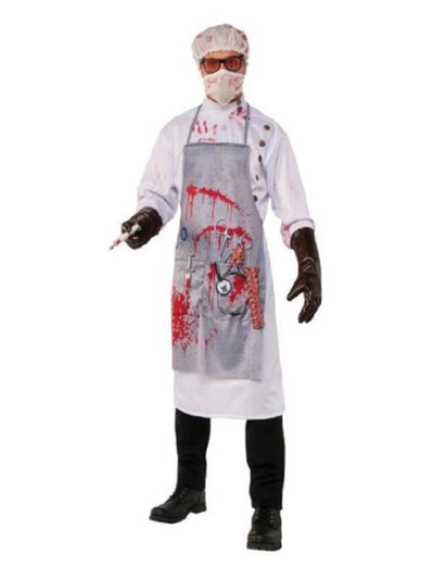 Mad Scientist Costume - Size Std-Costumes - Mens-Jokers Costume Hire and Sales Mega Store