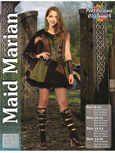 Maid Marian-Costumes - Women-Jokers Costume Hire and Sales Mega Store