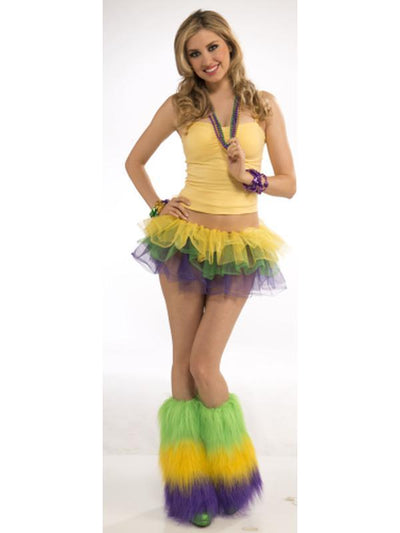 Mardi Gras Tutu-Costumes - Women-Jokers Costume Hire and Sales Mega Store