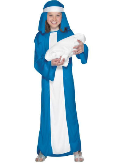 Mary Child Costume-Costumes - Girls-Jokers Costume Hire and Sales Mega Store