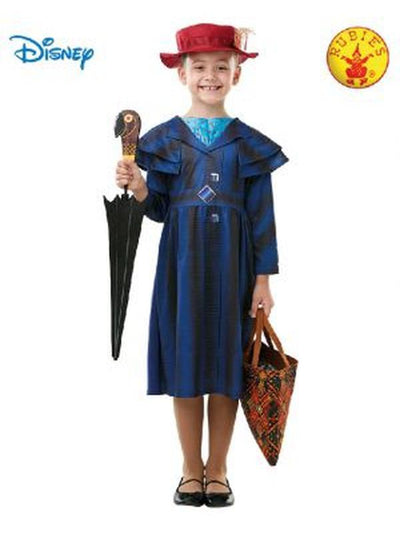 MARY POPPINS RETURNS DELUXE COSTUME, CHILD-Costumes - Girls-Jokers Costume Mega Store