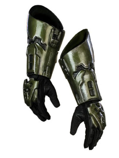 Master Chief Halo Gloves Adlt-Jokers Costume Mega Store