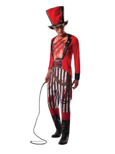 Mauled Ringmaster Costume - Size Xl-Costumes - Mens-Jokers Costume Hire and Sales Mega Store