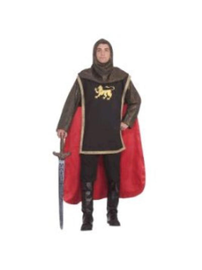 Medieval Knight Costume - Size Std-Costumes - Mens-Jokers Costume Hire and Sales Mega Store