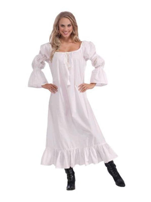 Medieval Lady Chemise Costume - Size Std-Costumes - Women-Jokers Costume Hire and Sales Mega Store