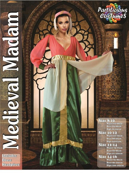Medieval Madam-Costumes - Women-Jokers Costume Hire and Sales Mega Store