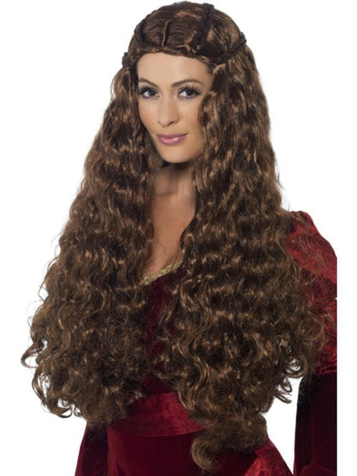 Medieval Princess Wig-Wigs-Jokers Costume Hire and Sales Mega Store