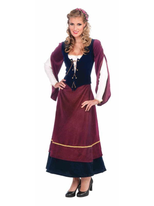 Medieval Wench Costume - Size Std-Costumes - Women-Jokers Costume Hire and Sales Mega Store