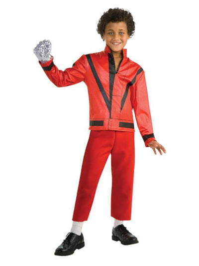 Michael Jackson Child Thriller Jacket - Size S-Costumes - Boys-Jokers Costume Hire and Sales Mega Store