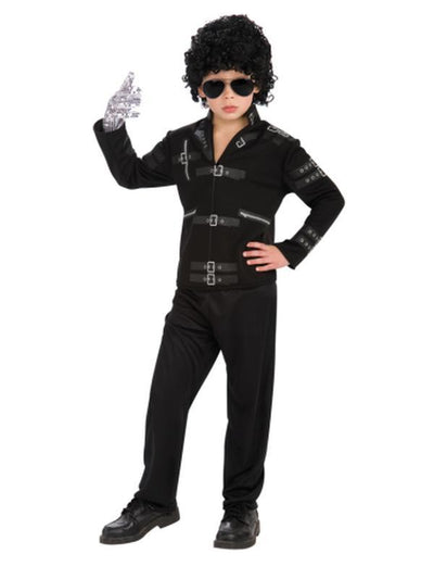 Michael Jackson Jacket - Size S-Costumes - Boys-Jokers Costume Hire and Sales Mega Store