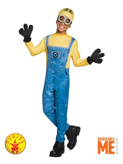 MINION DAVE COSTUME - SIZE 3-5-Costumes - Boys-Jokers Costume Hire and Sales Mega Store
