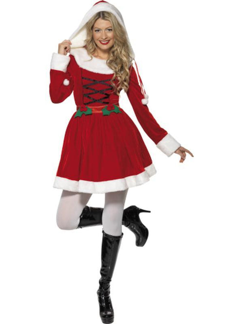 Miss Santa Costume - Dress-Costumes - Women-Jokers Costume Hire and Sales Mega Store