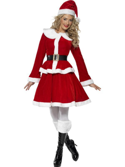 Miss Santa Costume - Jacket-Costumes - Women-Jokers Costume Hire and Sales Mega Store