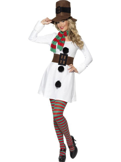 Miss Snowman Costume-Costumes - Women-Jokers Costume Hire and Sales Mega Store