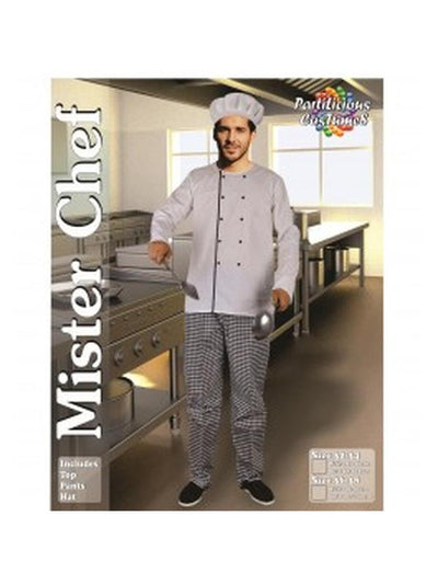 Mister Master Chef-Costumes - Mens-Jokers Costume Hire and Sales Mega Store