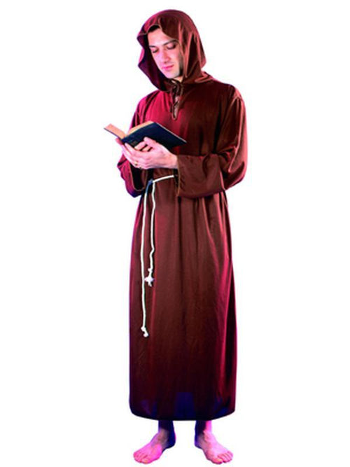 Monk - Adult - Medium-Costumes - Mens-Jokers Costume Hire and Sales Mega Store