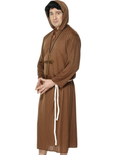 Monk Costume-Costumes - Mens-Jokers Costume Hire and Sales Mega Store